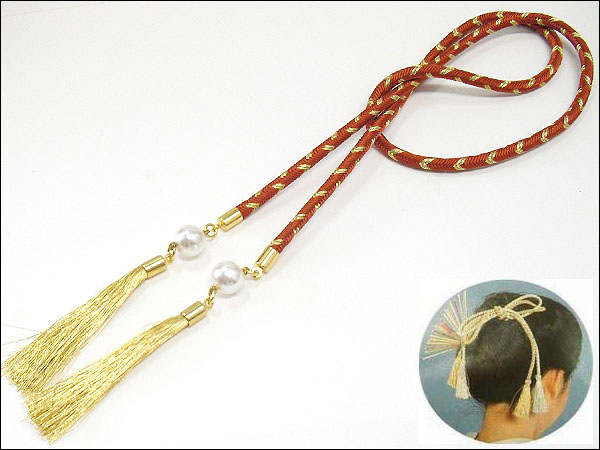 ♪ silk Kanefusa with braided silk tea-based kimono, sum accessories, ccc such as the seven hundred fifty-three