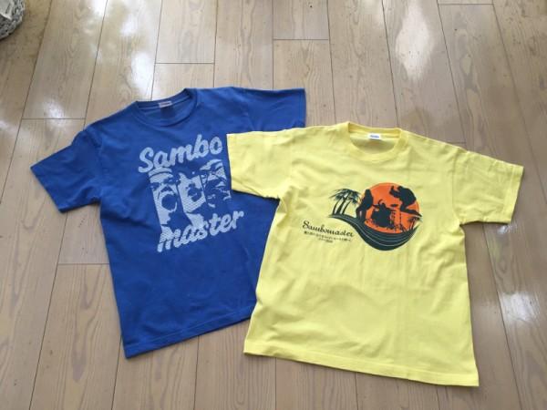 サンボマスター 2006ツアーTシャツ セット SAMBO MASTER