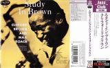 ★ 帯付き ★ Clifford Brown クリホード・ブラウン ★ [ Study in Brown ] ★ 素晴らしい名盤。