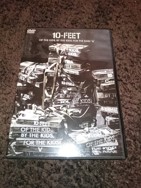 10-FEETDVD OF THE KIDS.BY THE KIDS.FOR THE KIDS Ⅴ ライブグッズの画像