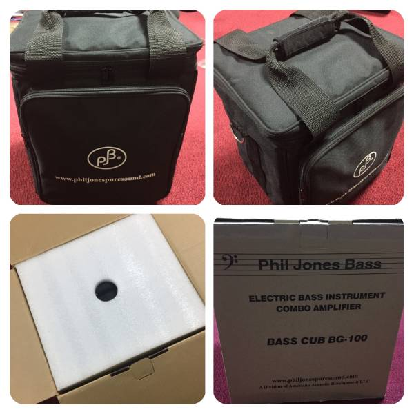 「Phil Jones Bass BassCUB」フィルジョーンズ コンボ アンプ