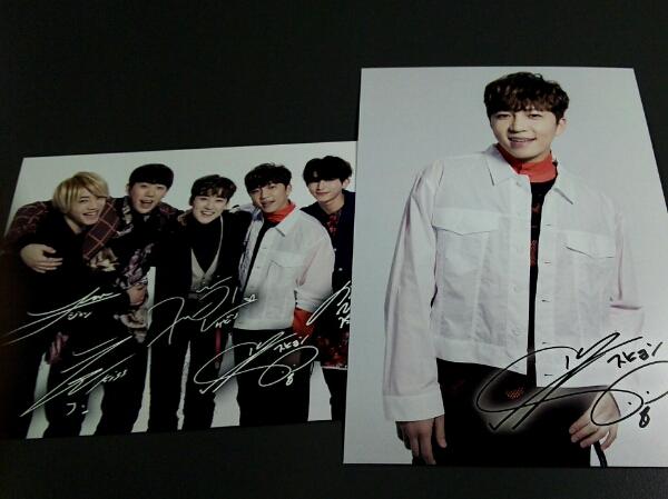U-KISS ★ FC更新 ポストカード スヒョン ライブグッズの画像