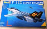 ドイツレベル 1/72 F-14D スーパートムキャット