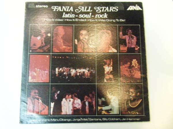 ラテン 稀少 LP ファニア・オールスターズ ラテンーソウルーロック 輸入盤 ファニア fania allstars ダブルジャケット_画像1