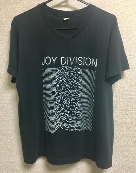 ビンテージ joy division Tシャツ 80s レアです。ロック