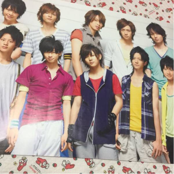 Hey!Say!JUMP JUMP TENGOKU 2009 集合ポスター コンサートグッズの画像
