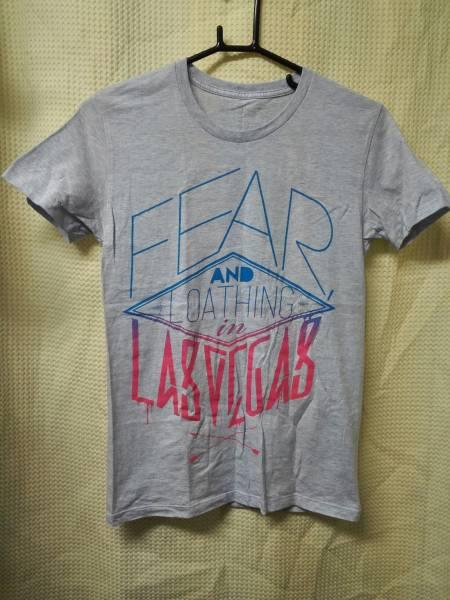 04 バンドTシャツ Fear,and Loathing in Las Vegas S 水色しもふり
