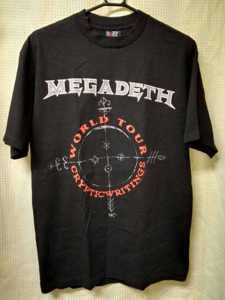 04 バンドTシャツ メガデス 1997ツアー ヴィンテージ L