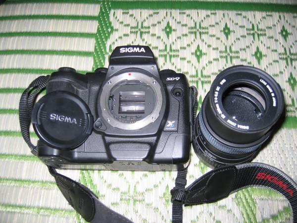 貴重 SIGMA シグマ SD9 望遠レンズ付き