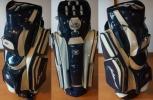拘りのゴルファー向 アメリカブランド Hot-Z Golf 14分割 総エナメル キャディバッグ カートバッグ