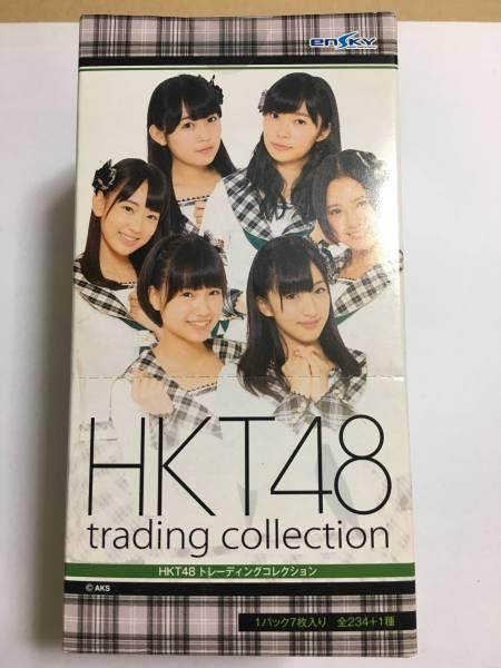 HKT48 トレーディングコレクション BOX 新品未開封 トレカ ライブグッズの画像
