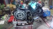 CBX400F 2型エンジン
