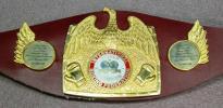 IBF世界チャンピオンベルトレプリカフルサイズ仕様旧型マイクタイソンタイプ