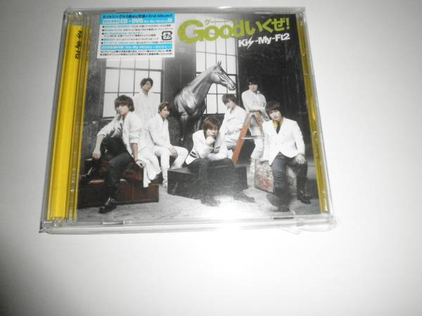Kis-My-Ft2 CD+DVD Goodいくぜ! グーッと