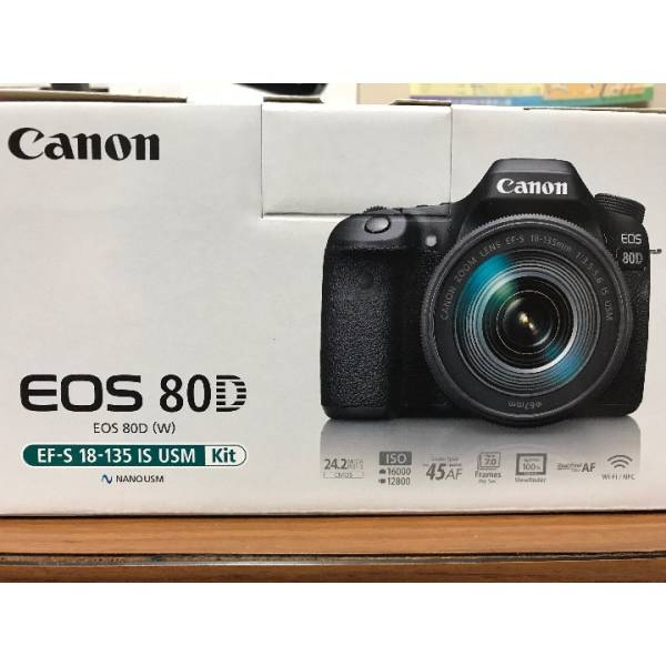 Canon デジタル一眼レフカメラ EOS 80D レンズキット EF-S18-135mm F3.5-5.6 IS USM 付属 EOS80D 18135USMLK