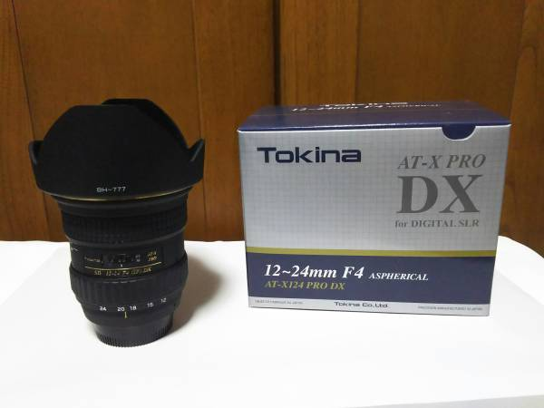 Tokina 12~24mm F4 AT-X PRO DX Nikon用 格安スタート 売り切り。