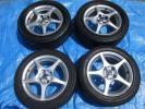 15X6J+45 15X6.5J+45 ZZW30 MR-S 15インチ アルミホイール トヨタ純正 4本4H100