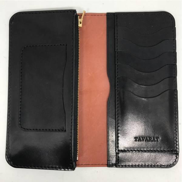 TAVARAT 日本製 コードバン長財布 【新喜皮革社製コードバン カード収納8枚 メンズ】(タバラット)