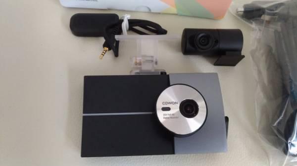 ドライブレコーダー フルHD COWON JAPAN Auto Capsule AN2 前後カメラ 駐車録画対応 監視 防犯 フルハイビジョン 車上狙い_画像1
