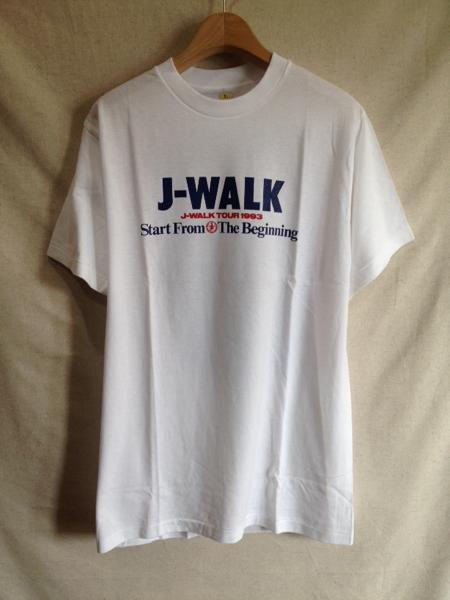 【J-WALK】ツアーTシャツ 1993 未使用 L 当時物 THE JAYWALK