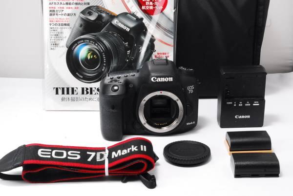 ★極上品★Canon キヤノン EOS 7D Mark II 予備バッテリー付き