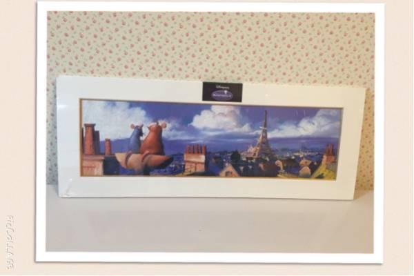 【美品】ディズニーランドパリ限定 レミーのおいしいレストラン イラスト ディズニーグッズの画像