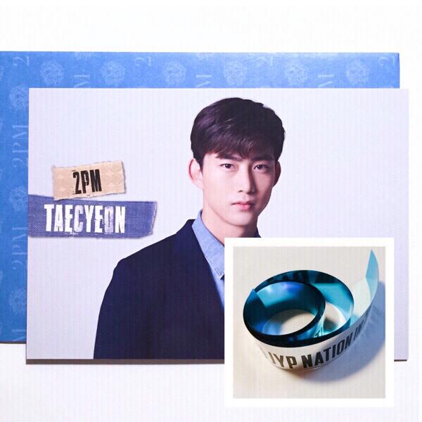 2PM★テギョン★JYPN 2016 トレカ+銀テープ★Taecyeon★