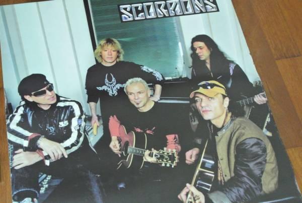 送料290●新品 89cm ポスター スコーピオンズ Scorpions シェンカー フライングV metal メタル b