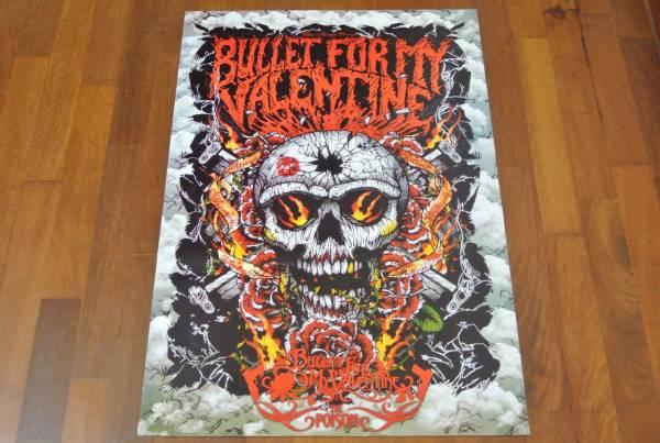 送料290円●新品 89cm ポスター ブレット フォー マイ ヴァレンタイン Bullet for My Valentine BFMV metal メタル