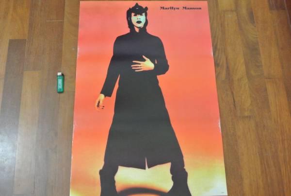 送料290円●新品 78cm ポスター マリリンマンソン Marilyn Manson メタル a