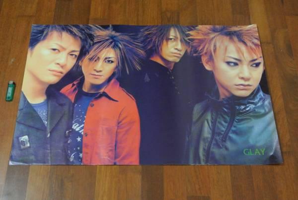 送料290円●新品 89cm ポスター GLAY グレイ teru hisashi takuro jiro 古いポスター 貴重