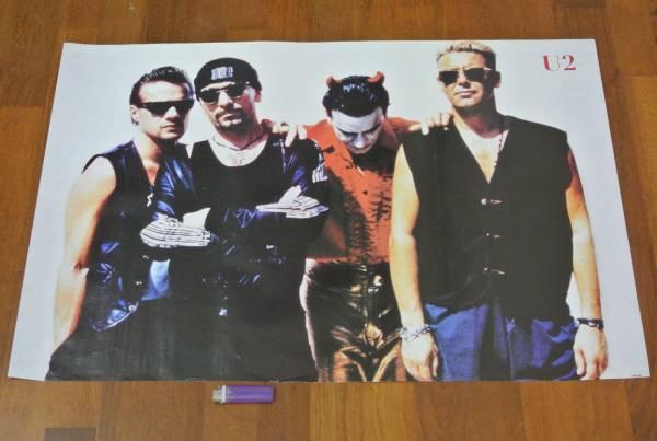 送料290円●新品 89cm ポスター U2 ユーツー ボノ エッジ
