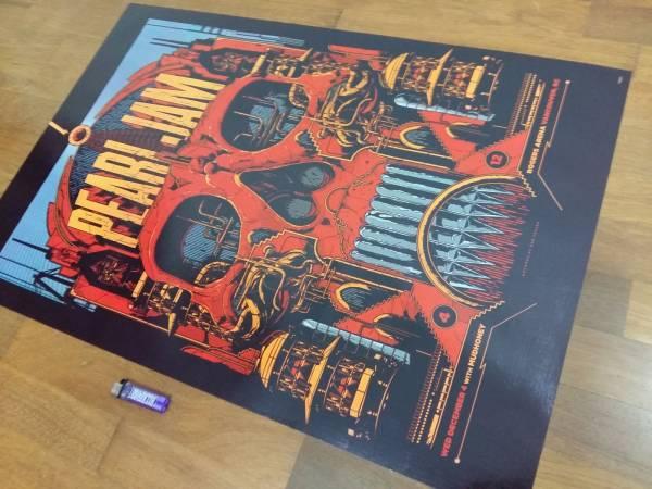 送料290円●新品 89cm ポスター パールジャム Pearl Jam USA アメリカ ロック rock