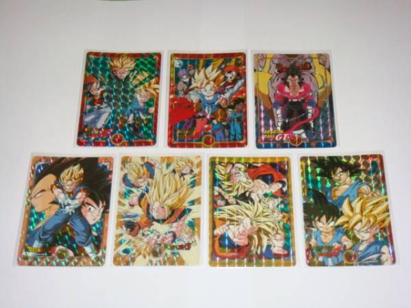 非売品 カードダス ドラゴンボール スペシャルカード 全7枚_画像1