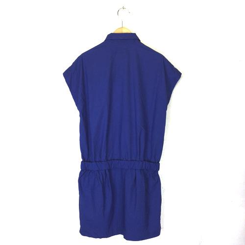 Traditional Weatherwear トラディショナルウェザーウェア シャツワンピース フレンチスリーブ S 【中古】_バック