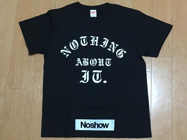 【新品】Noshow Tシャツ!!