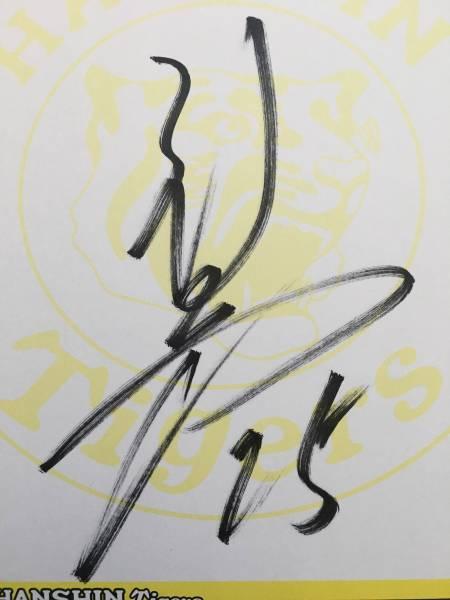 ☆新井貴浩選手☆直筆サイン色紙!広島東洋カープ 阪神タイガース グッズの画像