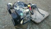 実動 イセキ FE400D ガソリンエンジン PG53 田植機 エンジン