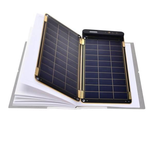 日差しを味方にしよう!YOLK SOLAR PAPER 5W 薄型 ポータブル ソーラーパネル③
