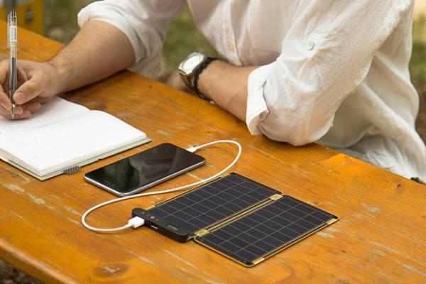 日差しを味方にしよう!YOLK SOLAR PAPER 5W 薄型 ポータブル ソーラーパネル③_画像2