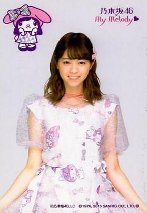 乃木坂46 生写真 西野七瀬 マイメロディ 公式 ドレス グッズ グッズの画像