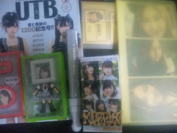AKB48 NMB48 写真集 ペンライト トレカ クロック 写真 大島前田板野 グッズまとめ(古管理:12) ライブ・総選挙グッズの画像
