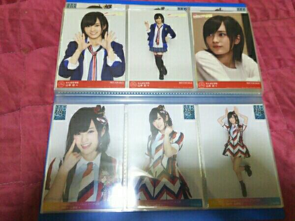 NMB48 AKB48 山本彩 公式生写真 277枚 まとめ ライブ・総選挙グッズの画像