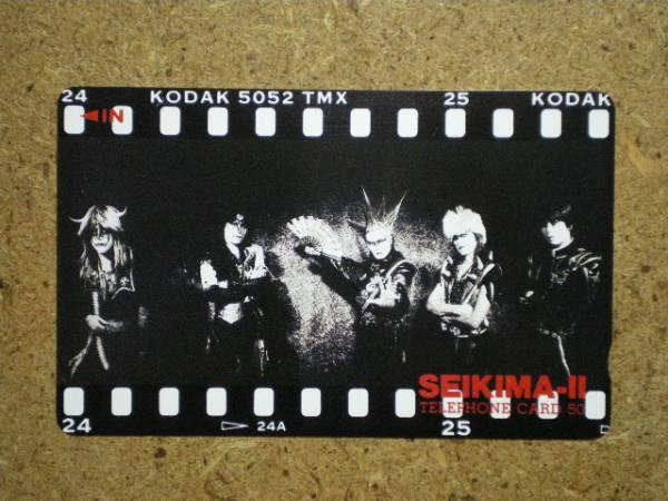 s85-25・KODAK 聖飢魔Ⅱ デーモン小暮 テレカ