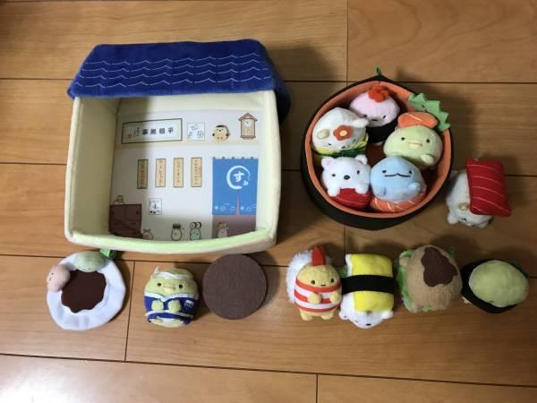 すみっコぐらしセット ② すみっコハウス 寿司 グッズの画像