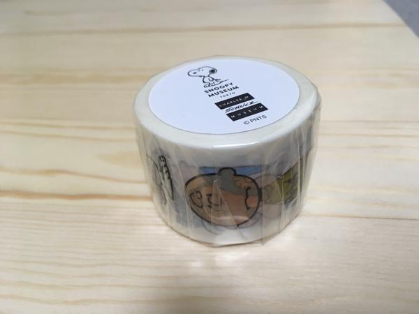 スヌーピーミュージアム マスキングテープ 30mm キャラ グッズの画像