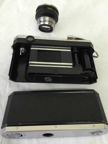 ニコン Nikon S2 NIKKOR-S 1:1.4 f=5cm 純正カメラケース付き (M-48)_画像3