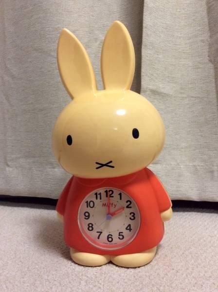 ミッフィー おしゃべり目覚まし時計 動作確認済 グッズの画像