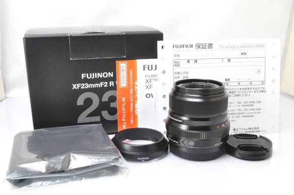 ★★新品級 FUJIFILM FUJINON XF 23mm F/2 R WR Lens ♪♪#2378