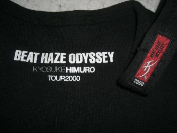 ★美U/レア 氷室京介 BEAT HAZE ODYSSEY 2000 タンクトップ ブラック
